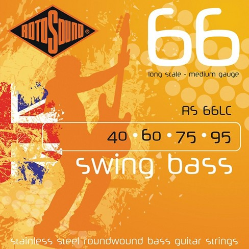 Rotosound RS66LC Long Scale Swing Bass Strings - image 1 of 2