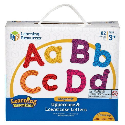 Learning Resources Magnetic Letters- Upper and Lower - image 1 of 2