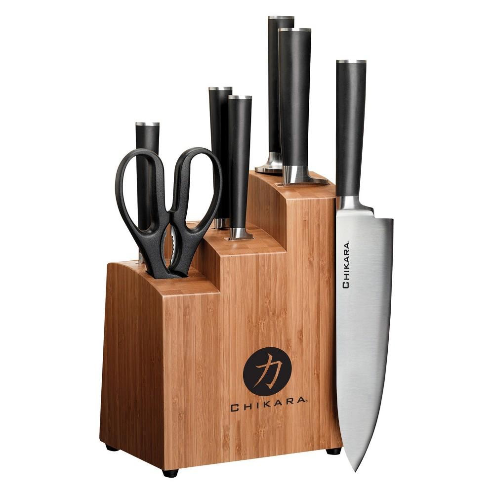 Image of GINSU Bamboo Chikara 8pc Bamboo Block Set