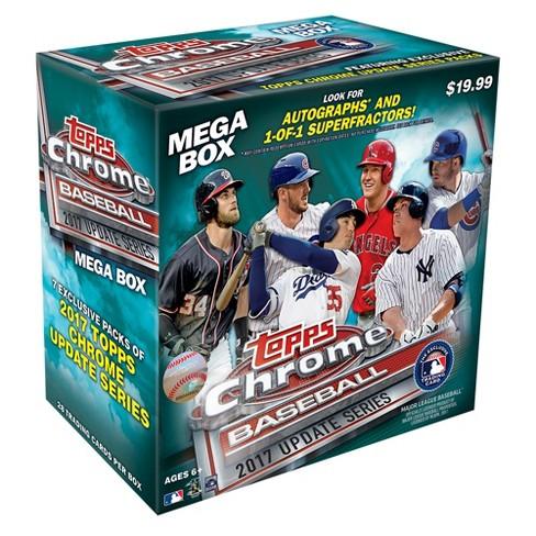 Mlb Baseball Trading Card Mega Box