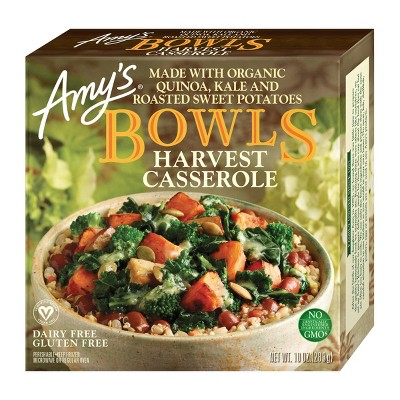 Amy's Frozen Harvest Casserole Bowl - 9oz