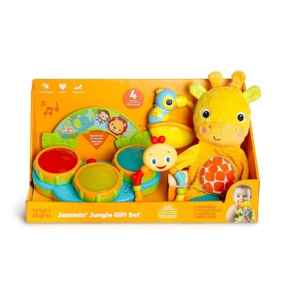 Image of Bright Starts Jammin' Jungle Gift Set