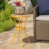 Barnsfield Ceramic Tile Side Table - Yellow - Christopher Knight Home - image 2 of 4