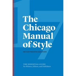 The Chicago Manual of Style, 17th Edition - 17 Edition (Hardcover)