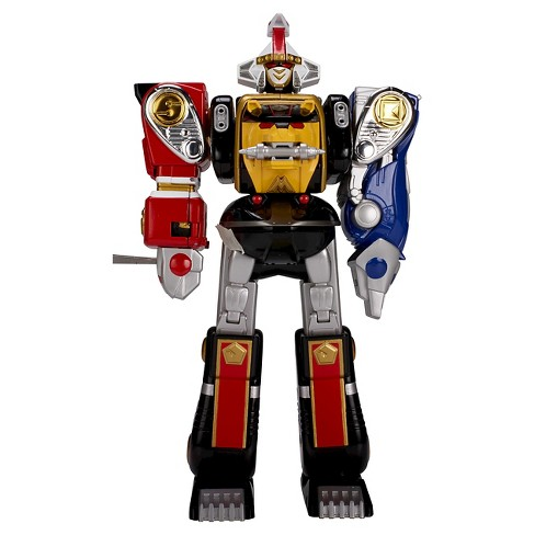 Power Rangers Mighty Morphin Legacy Ninja Megazord Action Figure - image 1 of 7