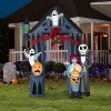 Gemmy Airblown Archway Nightmare Before Christmas Disney, 9 ft Tall, black - image 2 of 2