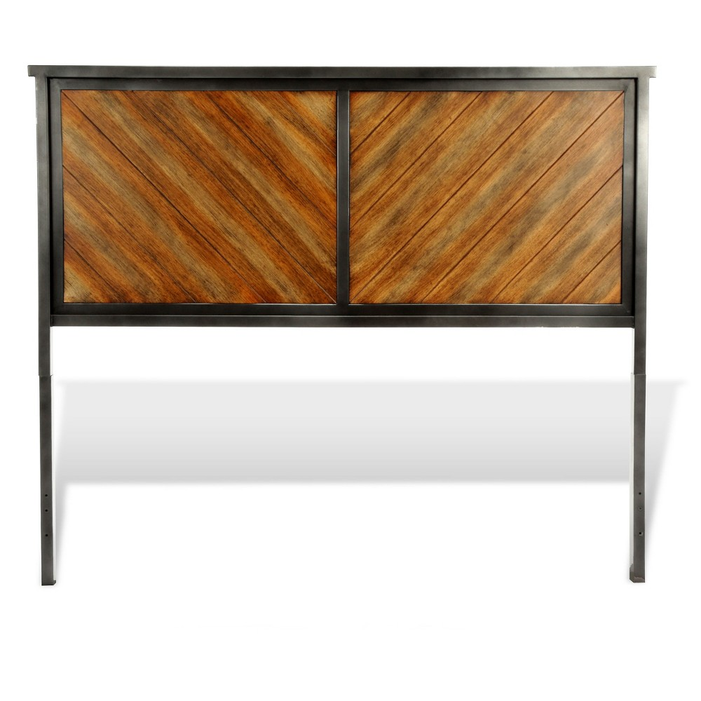 Braden Headboard - Rustic Tobacco - Queen - Fashion Bed Group, Brown