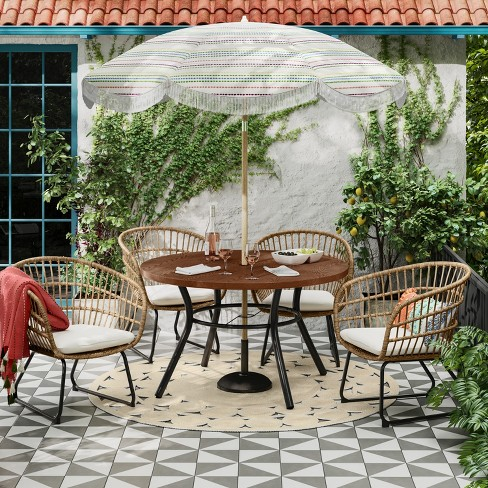 Southport 12pc Patio Dining Set Natural - Opalhouse™