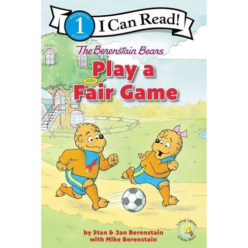 The Berenstain Bears Play a Fair Game - (I Can Read! / Berenstain Bears / Living Lights: A Faith Story) (Paperback) - image 1 of 1