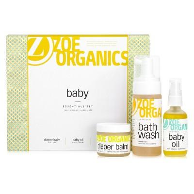 Zoe Organics 3pc Baby Gift Set