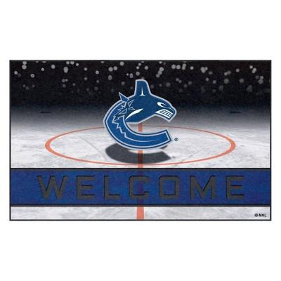 """NHL Vancouver Canucks Crumb Rubber Door Mat 18""""x30"""""""