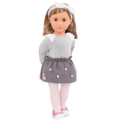 """Our Generation 18"""" Fashion Doll with Pom Pom Skirt - Bina"""