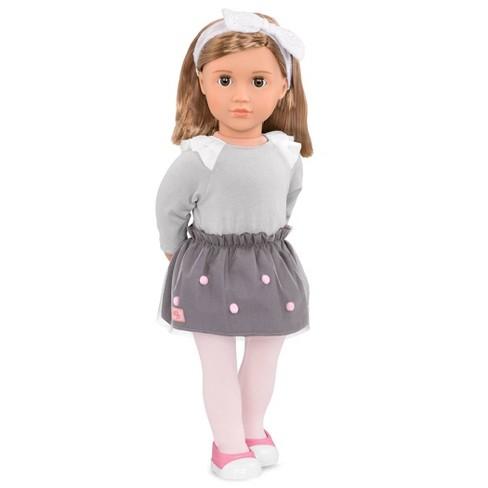 Our Generation Regular Doll with Pom Pom Skirt - Bina - image 1 of 2