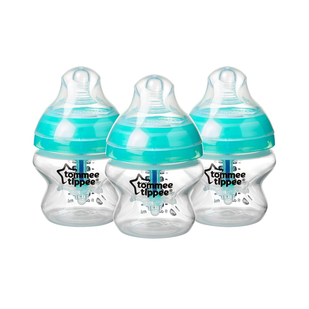 Image of Tommee Tippee Advanced Anti-Colic 3pk Baby Bottle 5oz - Clear