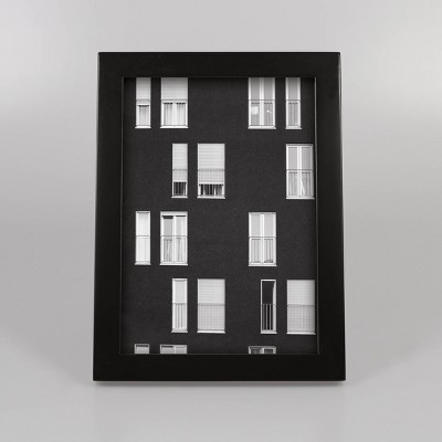 "5"" x 7"" Thin Single Picture Frame Black - Made By Design™"