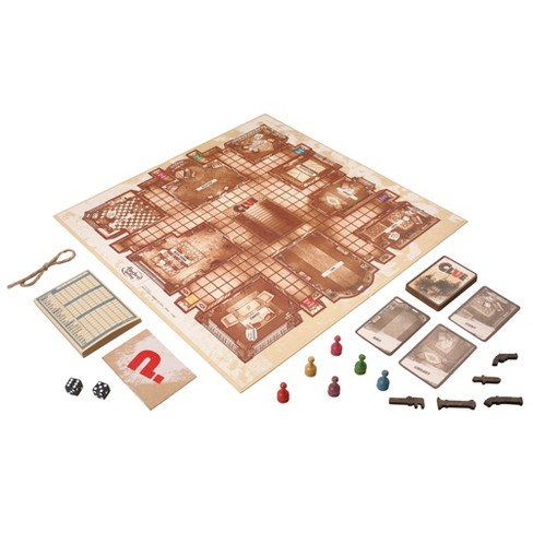Clue Game Rustic Series Edition