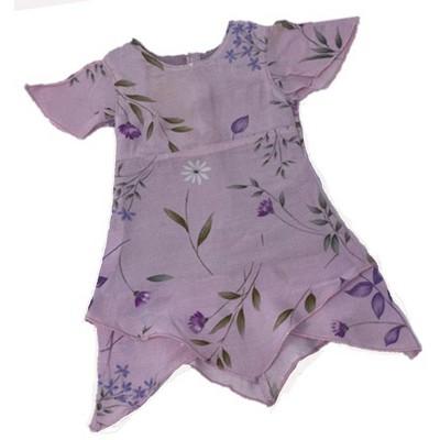 Doll Clothes Superstore Lavender Triangular Hemline Dress fits Bitty Baby