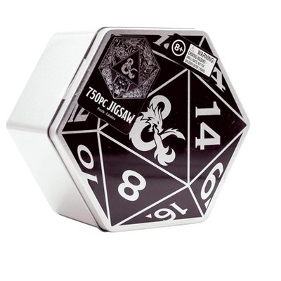 Paladone Products Ltd. Dungeons & Dragons 20-Sided Die-Shaped 750 Piece Jigsaw Puzzle