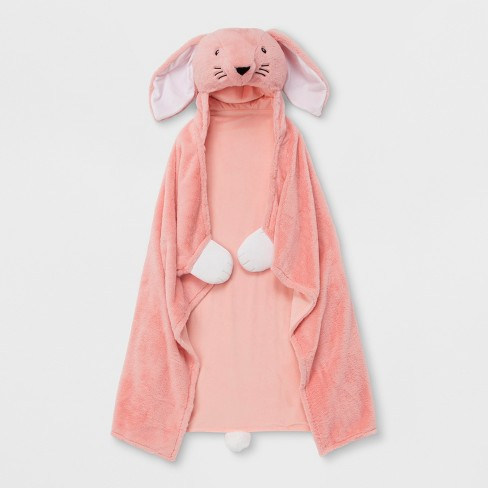 Bunny Hooded Blanket - Pillowfort™ - image 1 of 3