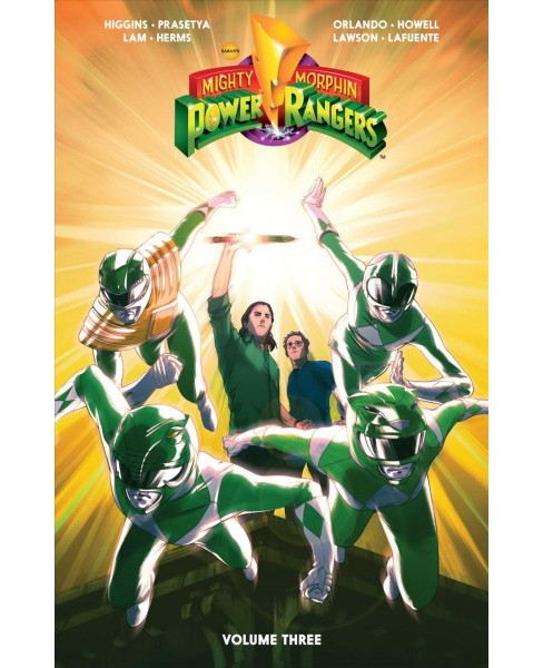 Mighty Morphin Power Rangers 3 (Paperback) (Kyle Higgins) - image 1 of 1