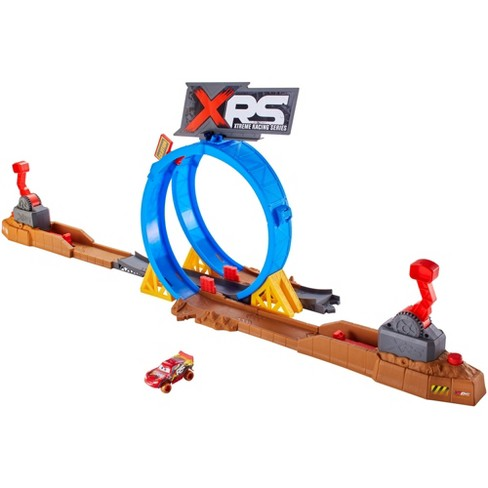 Disney Pixar Cars XRS Mud Racing Crash Challenge Playset - image 1 of 10