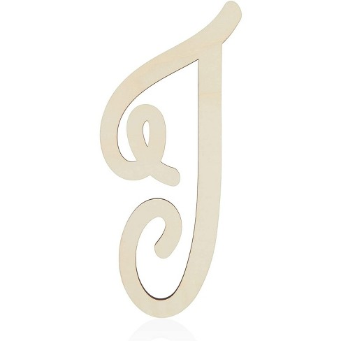 Unfinished Wood Monogram Letter I (13 in.) - image 1 of 2