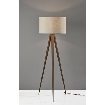Director Floor Lamp Walnut - Adesso
