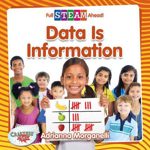Data Is Information - (Full Steam Ahead! - Math Matters) by  Adrianna Morganelli (Paperback) - image 1 of 1