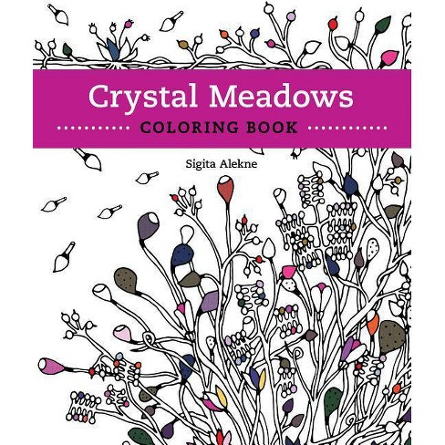 Crystal Meadows Coloring Book - (Paperback) - image 1 of 1