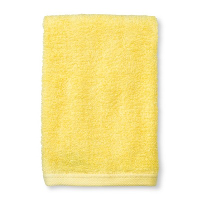 Solid Hand Towel Yellow - Room Essentials™