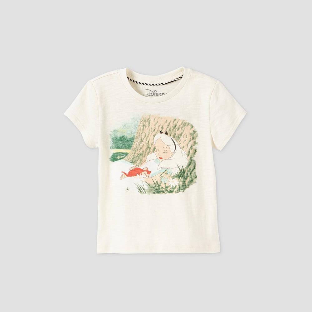 Top Toddler Girls' Disney Alice in Wonderland Short Sleeve Graphic T-Shirt -   - Disney Store