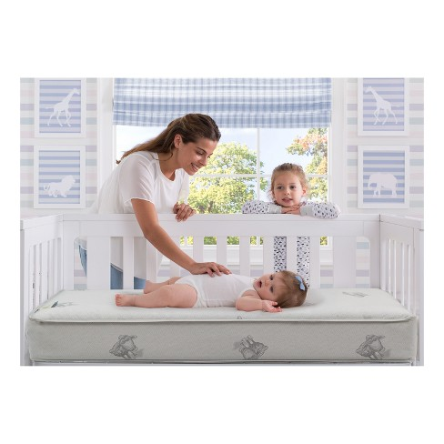 Serta Perfect Sleeper Comfort Deluxe Crib Toddler Mattress Target