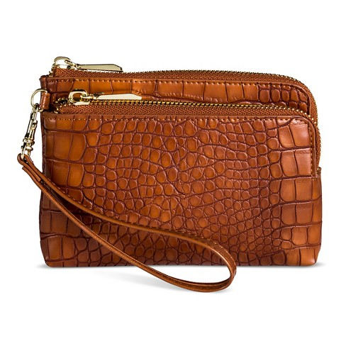 Clutch - A New Day™ Cognac - image 1 of 2