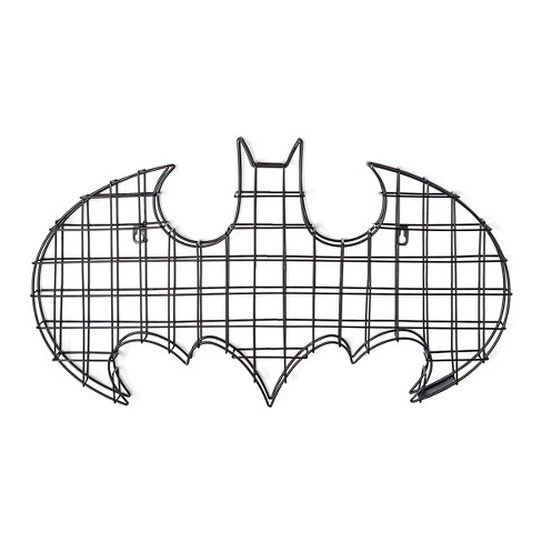 "Batman® Logo Black Wire Wall Decor (24""x14"") - image 1 of 1"