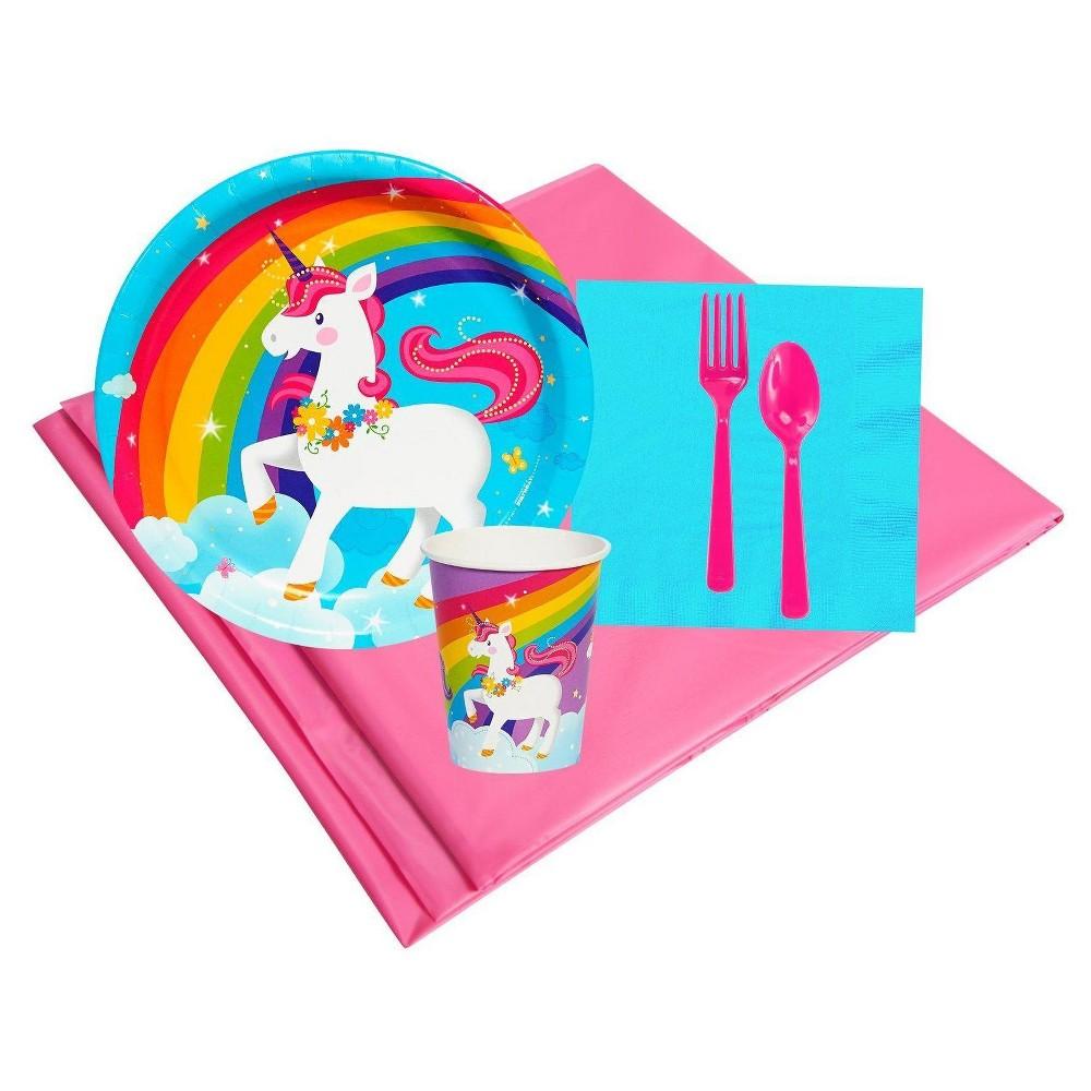 8ct Fairytale Unicorn Party Pk, Multicolored