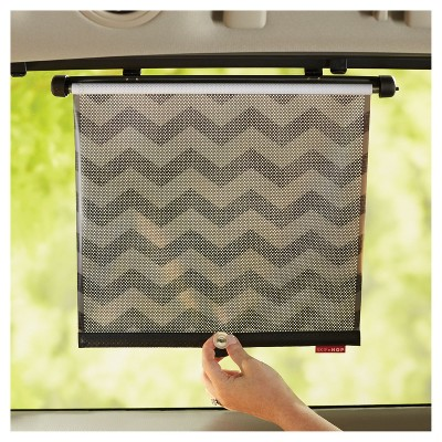 Skip Hop STYLE DRIVEN Window Shade - Tonal Chevron