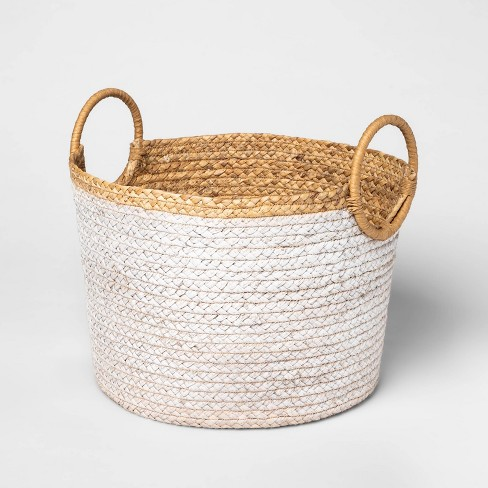 Basket With Round Handles Large - Threshold™ - image 1 of 4