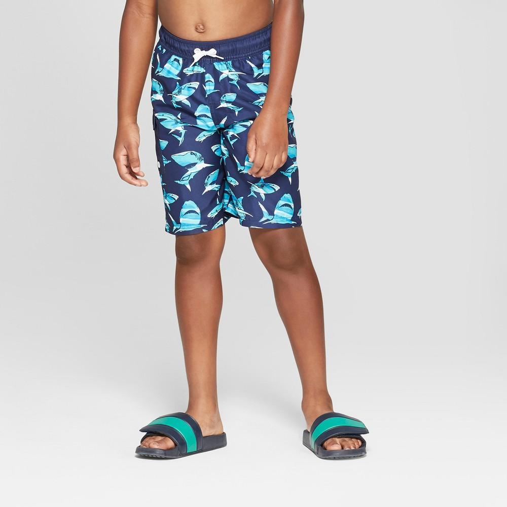 Boys' Shark Swim Trunks - Cat & Jack Blue S