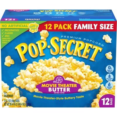 Pop Secret Movie Theater Butter Microwave Popcorn - 12ct