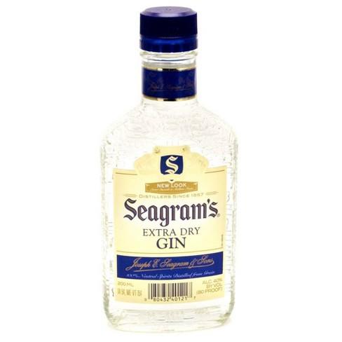 Seagram's Gin - 200ml Plastic Bottle - image 1 of 1