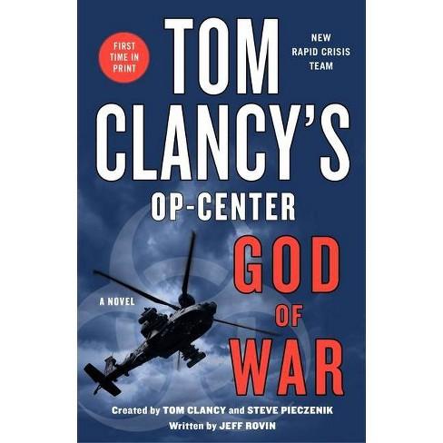 Tom Clancy's Op-Center: God of War - by  Jeff Rovin (Paperback) - image 1 of 1