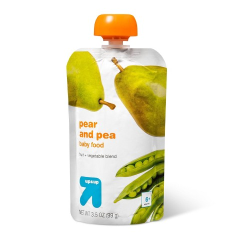 Pear and Pea Baby Food - 3.5oz - up & up™ - image 1 of 3