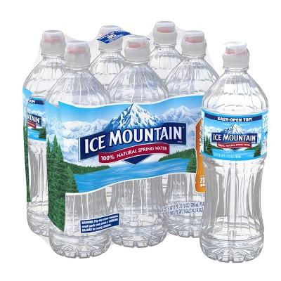 Water: Ice Mountain Sport Cap Bottles