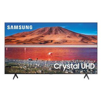 "Samsung 50"" Smart 4K Crystal HDR UHD TV TU7000 Series - Titan Gray"