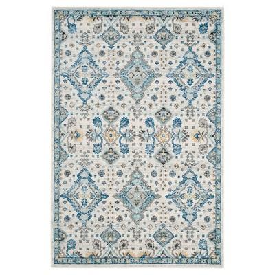Perla Area Rug - Ivory / Light Blue ( 5' 1  X 7' 6  )- Safavieh®