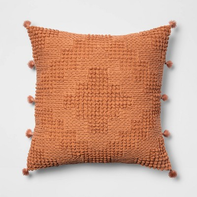 Oversize Chunky Textured Diamond Throw Pillow - Opalhouse™