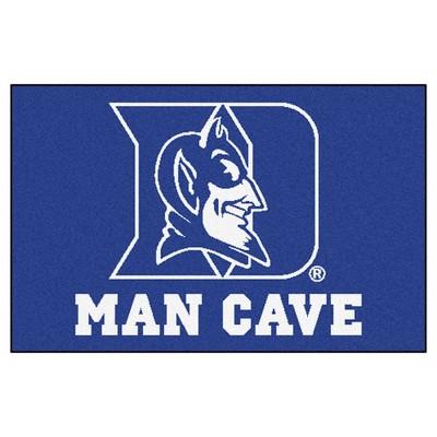 NCAA 19 x30  Man Cave Starter Rug Duke Blue Devils
