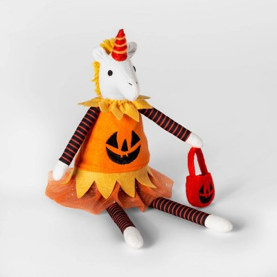 Mini Sitting Unicorn Decorative Halloween Figure   Hyde & Eek! Boutique™ by Shop This Collection