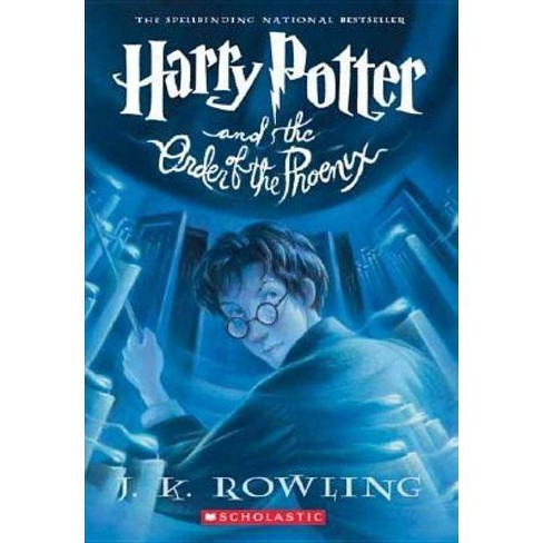 Harry Potter and the Order of the Phoenix - by  J K Rowling (Hardcover) - image 1 of 1