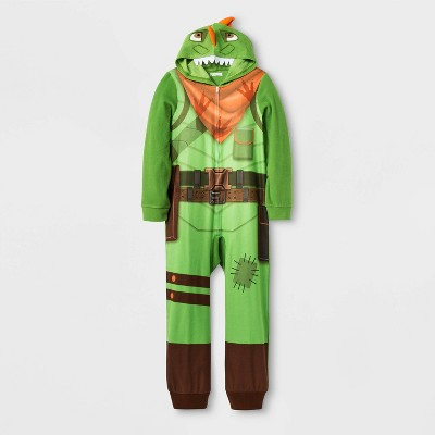boys-fortnite-union-suit---green by american-marketing-enterprises-inc